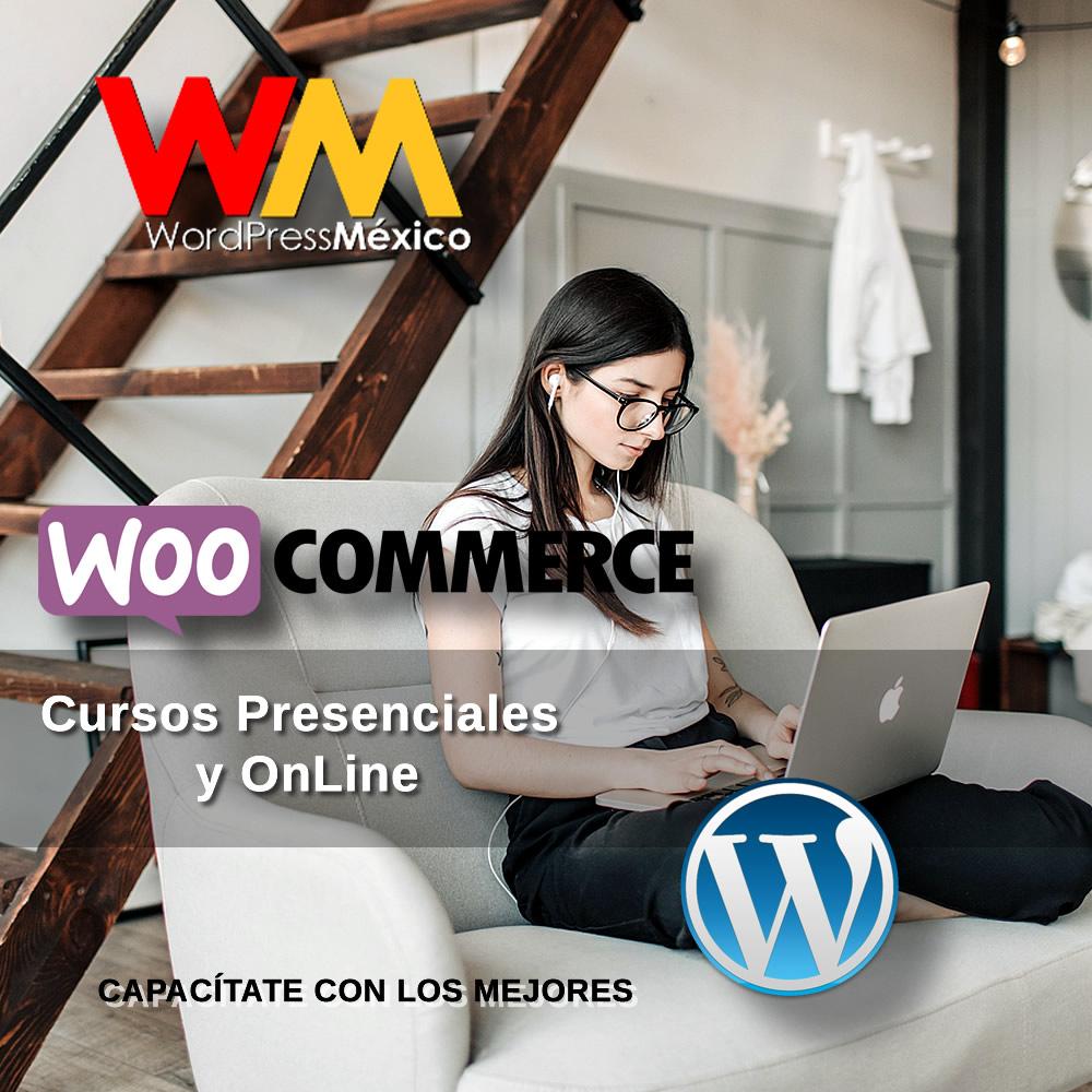 Curso Presencial y OnlIne de WordPress y WooCommerce